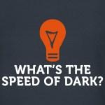 De snelheid van het licht kennen we, maar wat is eigenlijk de snelheid van de duisternis?