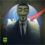 Hackerscollectief Anonymous zegt dat NASA intelligent leven in het heelal heeft ontdekt