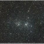 Focus op: de dubbele open sterrenhoop in Perseus