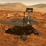 Opportunity werd gebouwd om 90 dagen op Mars te verblijven. Het zijn er inmiddels 5000!