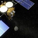 Hayabusa2 ruimteverkenner is gearriveerd bij de planetoïde Ryugu