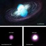 Bij neutronenbotsing GW170817 ontstond vermoedelijk een zeer licht zwart gat