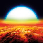 IJzer en titanium ontdekt in atmosfeer van exoplaneet