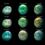 Cassini heeft stofstormen waargenomen op Saturnus' maan Titan