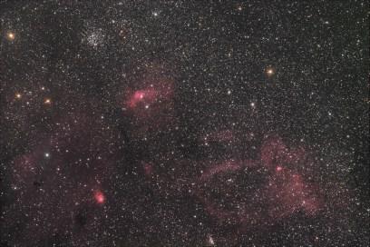 Bubble Nebula i okolica
