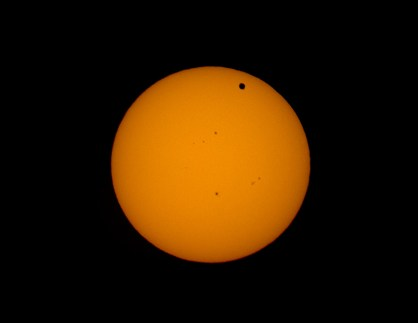 Tranzit Venere preko Sunca. Pentax 105 SDP + Canon 7D.