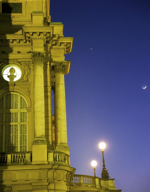 Mjesec i Venera kod HNK