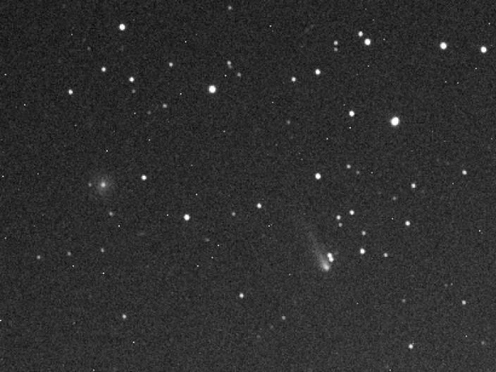 Komet ISON, snimljen 8.9.2013.