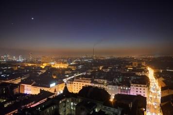 Mjesec i Venera nad Zagrebom, HDR verzija