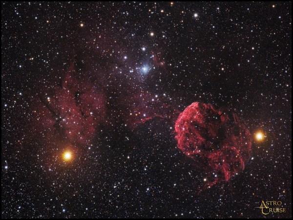 IC 443 (Jellyfish Nebula) & IC 444