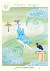mercury - Karni Zor's astrological cards