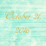 Astrology of Today – October 21, 2016