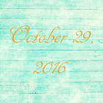 Astrology of Today – October 29, 2016