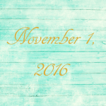 Astrology of Today – November 1, 2016