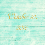 Astrology of Today – October 10, 2016