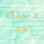 Astrology of Today – October 11, 2016