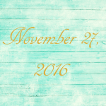 Astrology of Today – November 27, 2016