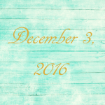 Astrology of Today – December 3, 2016