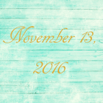 Astrology of Today – November 13, 2016