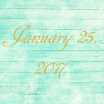 Astrology of Today – Wednesday, January 25, 2017