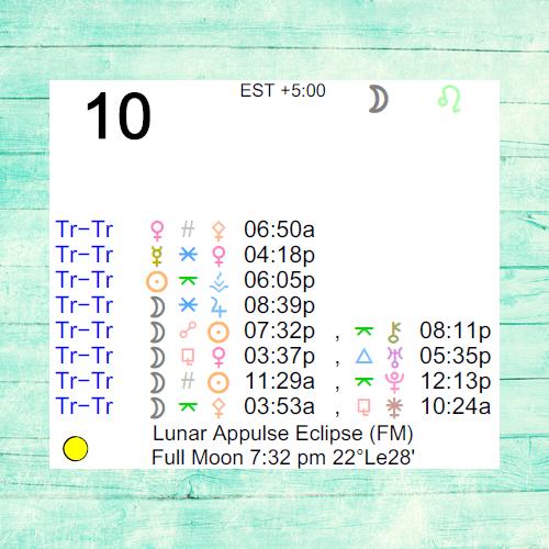 february 10 moon astrology