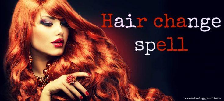 hair change spell