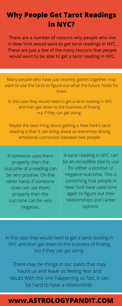 Why People Get Tarot Readings in NYC? infographic