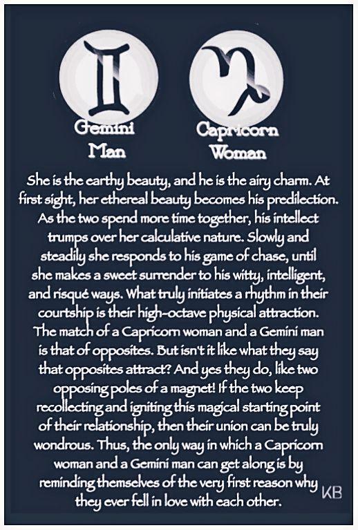 gemini man capricorn woman compatibility in love.