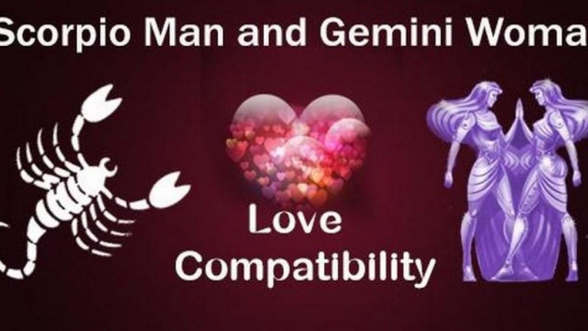Scorpio man gemini woman compatibility in love online