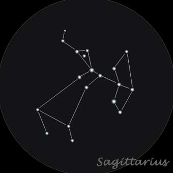 sagittarius constellation pictures