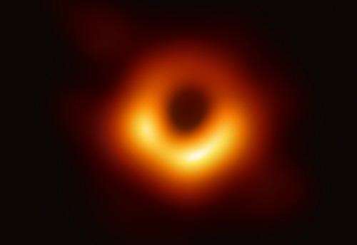 La luz se pierde en un agujero negro