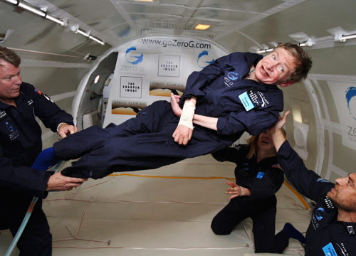 Stephen Hawking without gravity