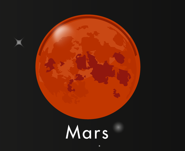 Mars-The Brother and Courage