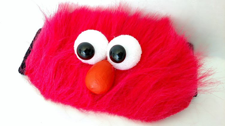 DIY Elmo Headband
