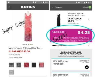 Kohls App
