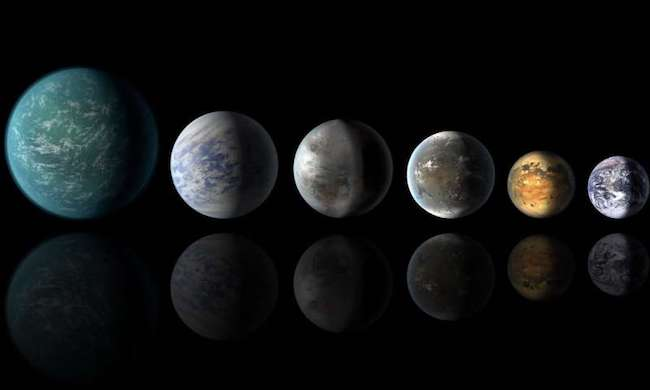 Eksoplanet Bumi Super dan Neptunus Mini. Kredit: NASA