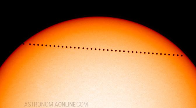 Tránsito de Mercurio del 9 de mayo de 2016