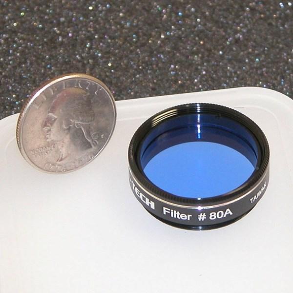 """Astro-Tech #80A Medium blue 1.25"""" color filter - Astro ..."""