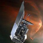 Artist's impression of the Herschel spacecraft