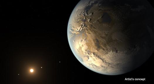 Dünya Büyüklüğündeki İlk Gezegen Keşfedildi