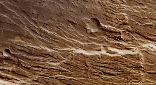 Mars Claritas Rupes
