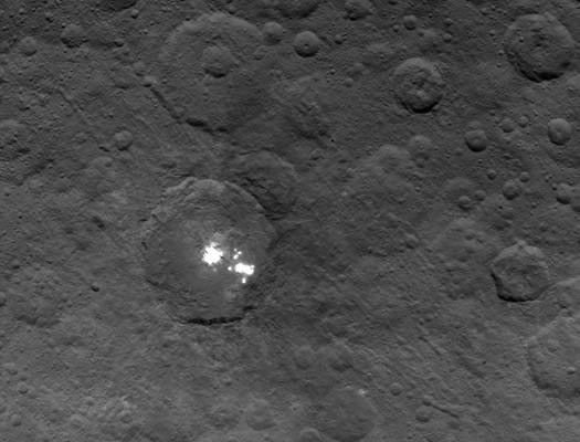 Ceres parlak krater