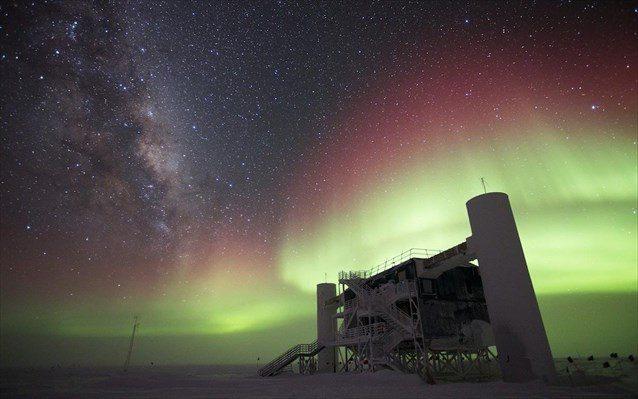 Το IceCube είναι ο μεγαλύτερος ανιχνευτής νετρίνων στον κόσμο.