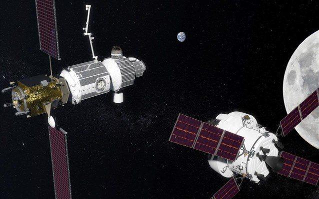 Αμερικανορωσικά σχέδια για διαστημικό σταθμό σε τροχιά γύρω από τη Σελήνη