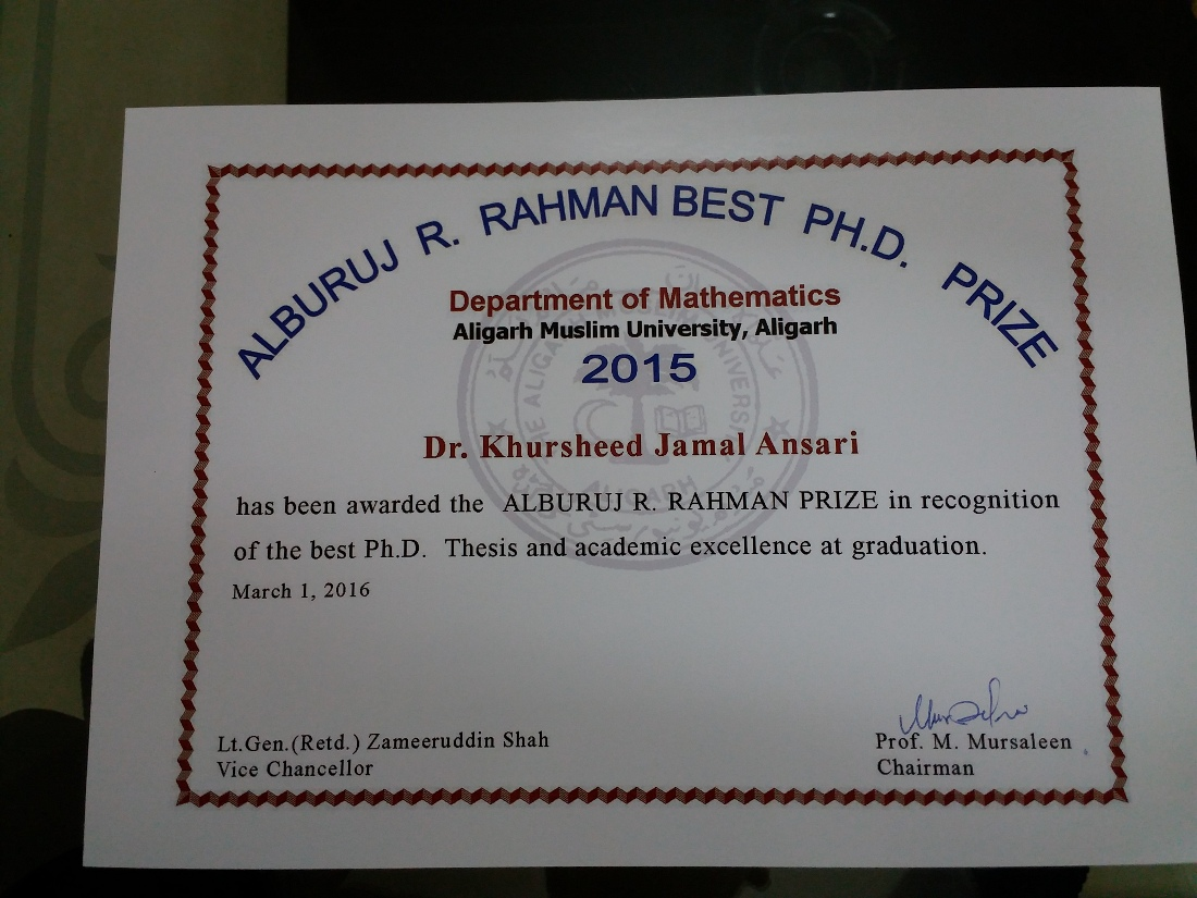 Maths phd thesis