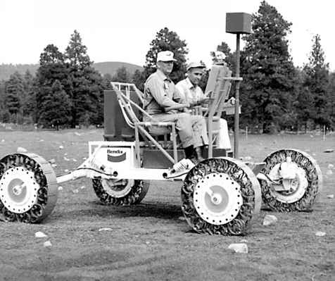 The Lunar Roving Vehicle Wins The Mobility Debate Lunar