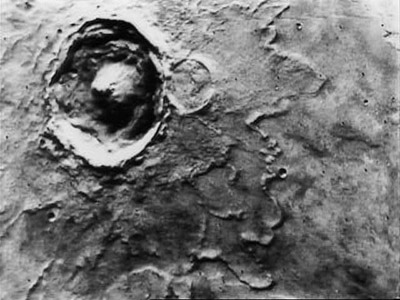 """Yuty Crater is a """"splash"""" crater"""
