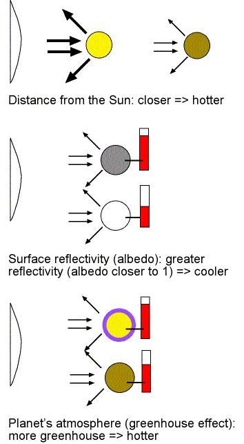 surface temperature