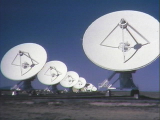 ground view of VLA