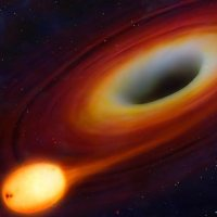 Black Hole Swallows Giant Planet In Virgo